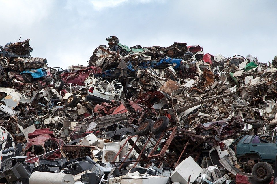 Scrapyard, Recycling, Dump, Garbage, Metal, Scrap Yard