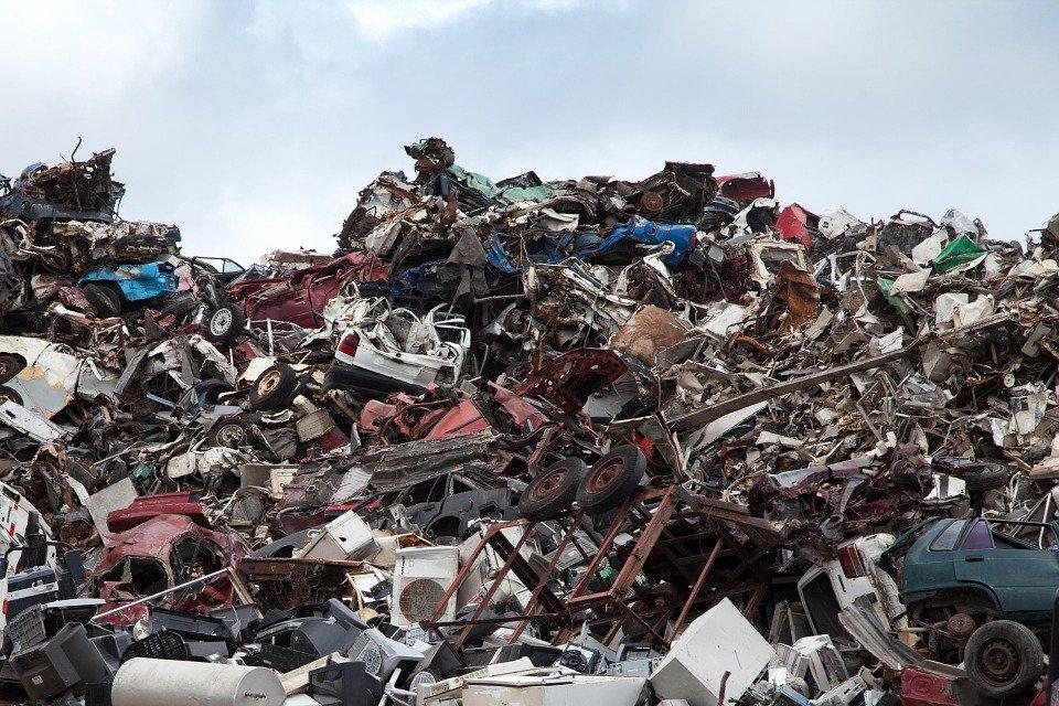 Scrapyard, Recycling, Dump, Garbage, Metal, Scrap Yard